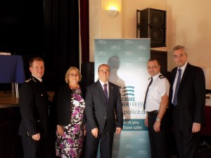 Chief Constable and PCC at EALC meeting