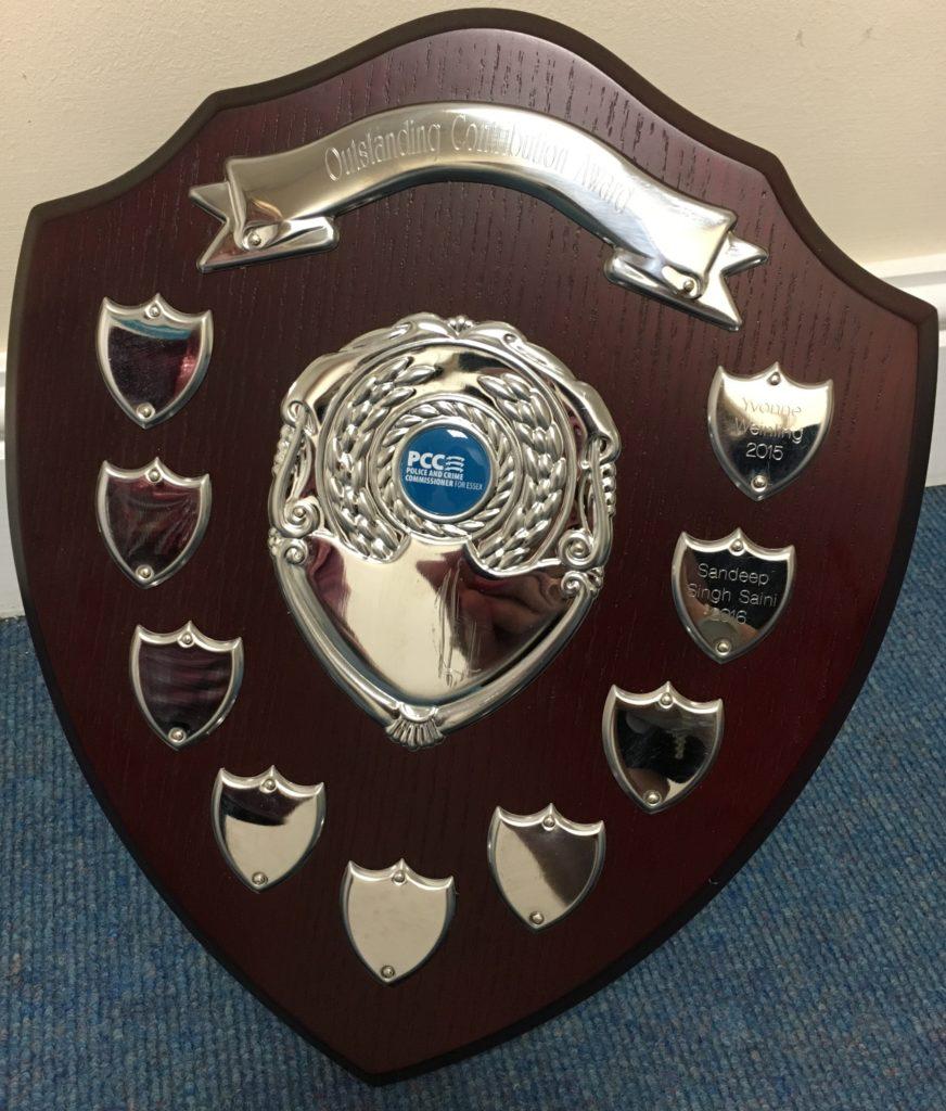 PCC Award Trophy