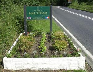 Halstead Sign
