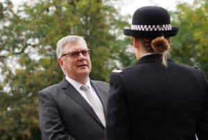 PFCC Roger Hirst at passing out event
